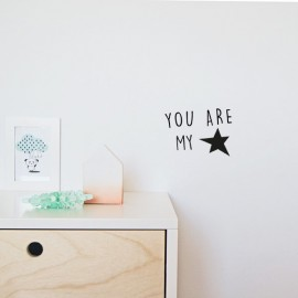 "Vinilo ""You are my star"" 