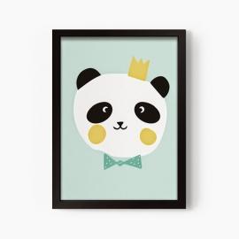 Lámina infantil King Panda