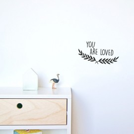 "Vinilo ""You are loved"" 