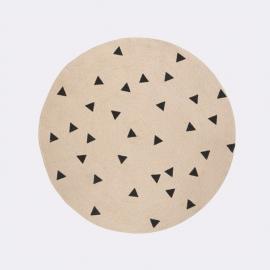 Alfombra Redonda Triángulos