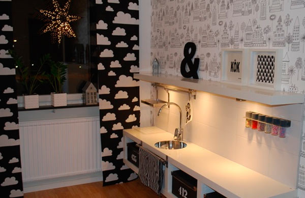 Ideas de decoraci n con el modelo expedit de ikea for Decoration kallax