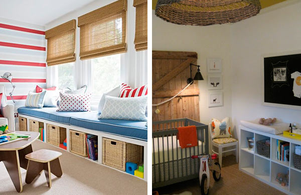 Ideas de decoraci n con el modelo expedit de ikea - Ideas para decorar habitaciones infantiles ...