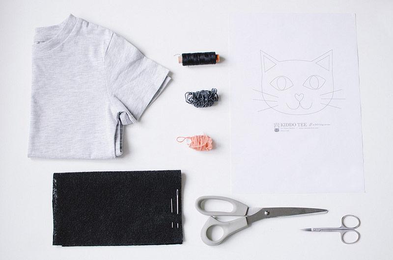 Descargable y tutorial para hacer una s per chula y - Pintar camisetas ninos ...