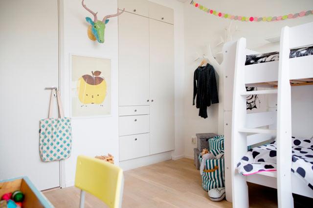 Una bellísima inspiración para decorar un dormitorio infantil ...