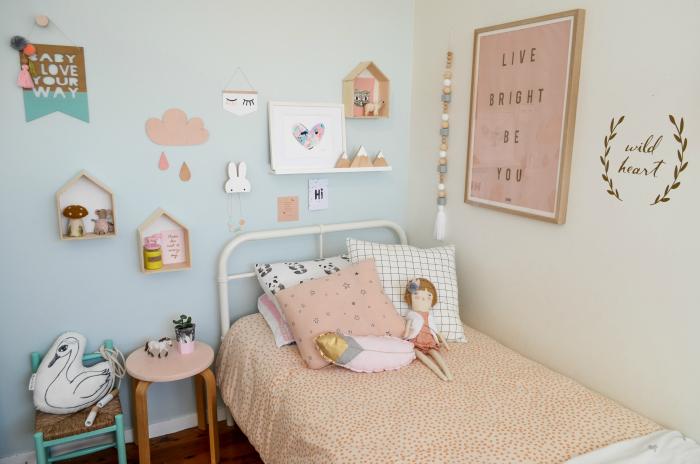 Nos inspiramos con una habitaci n infantil de estilo n rdico en suaves tonos pastel the - Suelo habitacion ninos ...