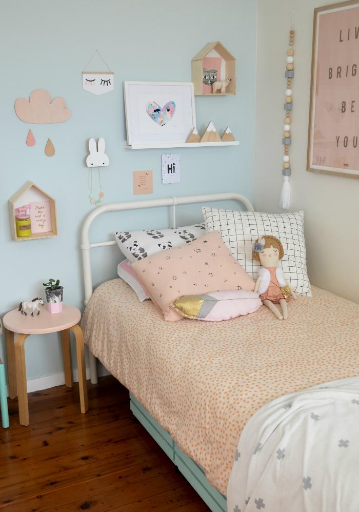 Nos inspiramos con una habitaci n infantil de estilo for Laminas para cuadros estilo nordico