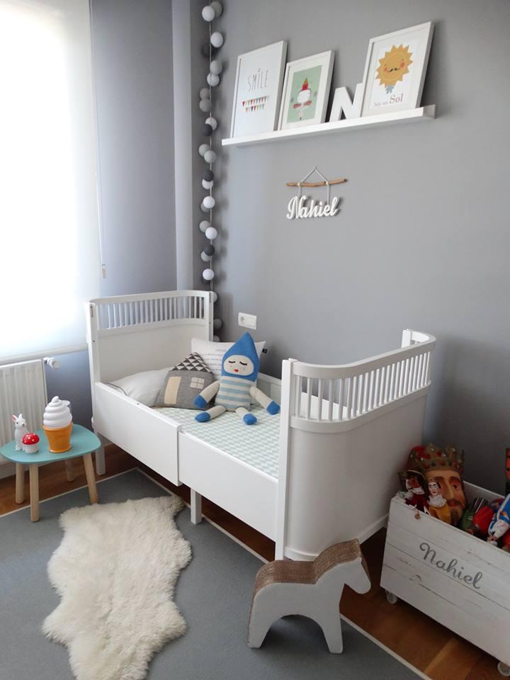 Una actual habitaci n infantil con aire n rdico que marca for Decoracion para habitaciones infantiles