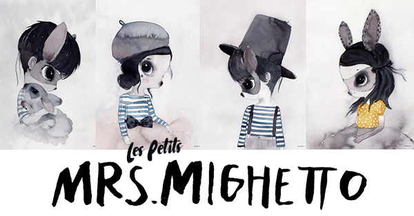 MRS MIGHETTO-LES-PETITS -laminas infantiles