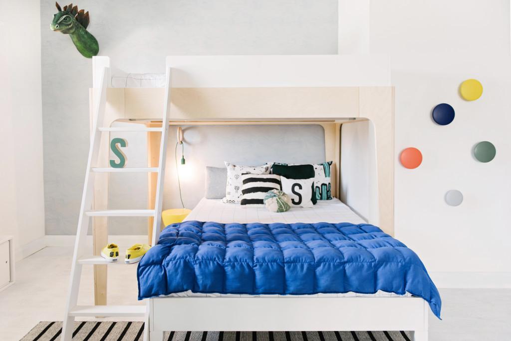 Una moderna habitaci n infantil de dise o para ni os for Habitacion bebe moderna