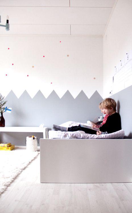 pintar paredes dormitorio niños