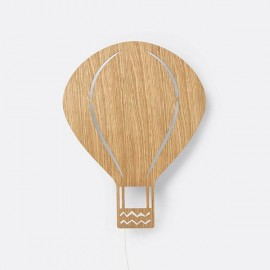 Air Balloon Lamp oak