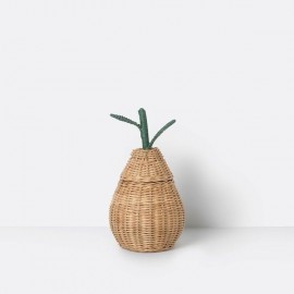 Cesta Mini Pear Mimbre