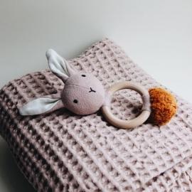 Sonajero Rabbit | rosa