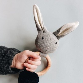 Sonajero Rabbit | grey