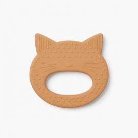 Gemma teether - Cat mustard