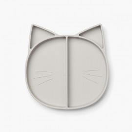 Maddox multi plate - Cat grey