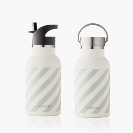 Anker / Water Bottle | Stripe grey