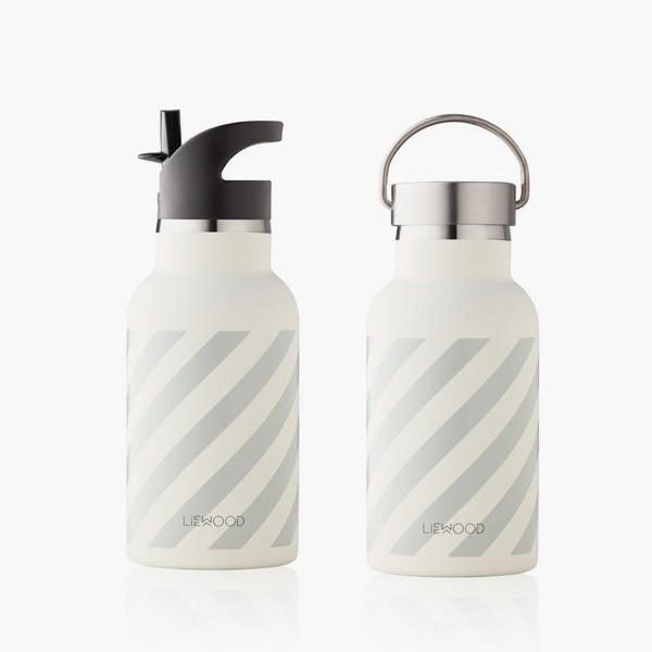 Anker / Water Bottle | Stripe grey