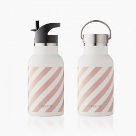 Anker Water Bottle | Stripe Rose