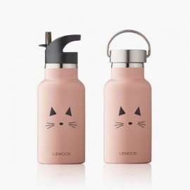 Anker / Water Bottle - Cat rose