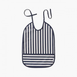 Lai Bib - Stripe Navy