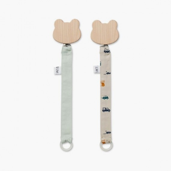 Sia pacifier strap 2 pack - Cars