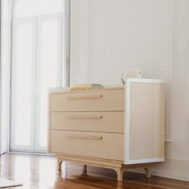 Straw Chest of Drawers
