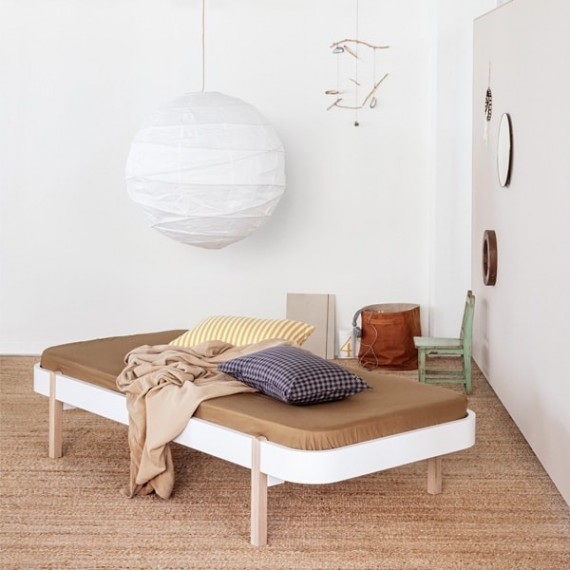 Wood Day Bed | Oak