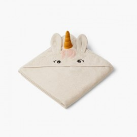 Augusta Hooded Towel - Unicorn sandy