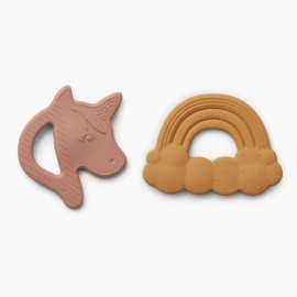 Roxie Silicone Teether 2 pack