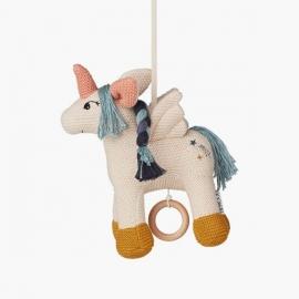 Móvil musical Unicornio