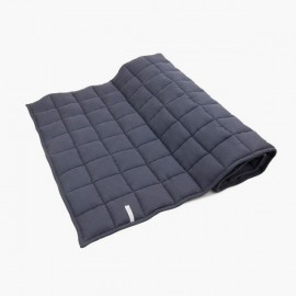 LINEN QUILTED BEDCOVER | Graphit