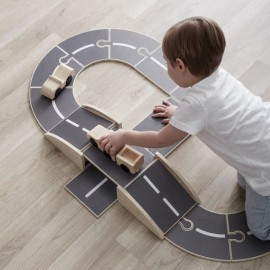 Wooden Car Track Aiden