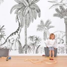 Mural Papel pintado Dinosaurios
