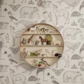 Katie Scott Wallpaper - Animals - Toffee