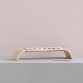 Xylophone plywood white