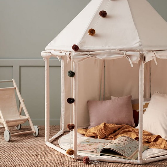 Pavillion tent off white