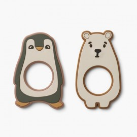 Gili Teether 2 Pack | Artic