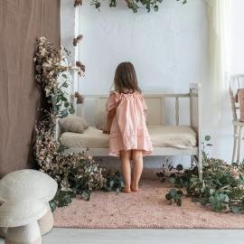 Washable rug Woods | Nude