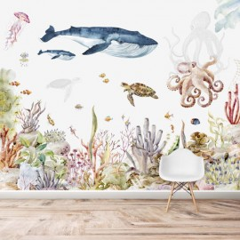 Mural Under The Sea Wallpaper