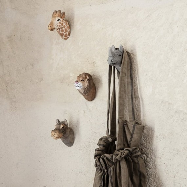 Animal Hand-carved Hooks