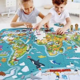 Puzzle La Vuelta al Mundo | 2 x 1