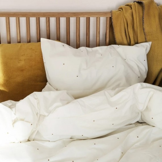 Dot Embroidery Bedding
