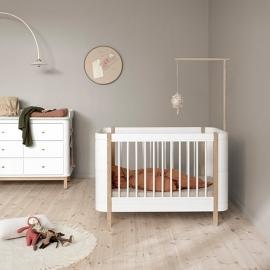 Cuna Wood Mini+ Blanca | Oliver Furniture