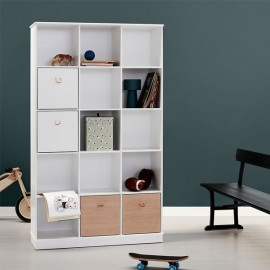 Wood Shelving Unit 3 X 5