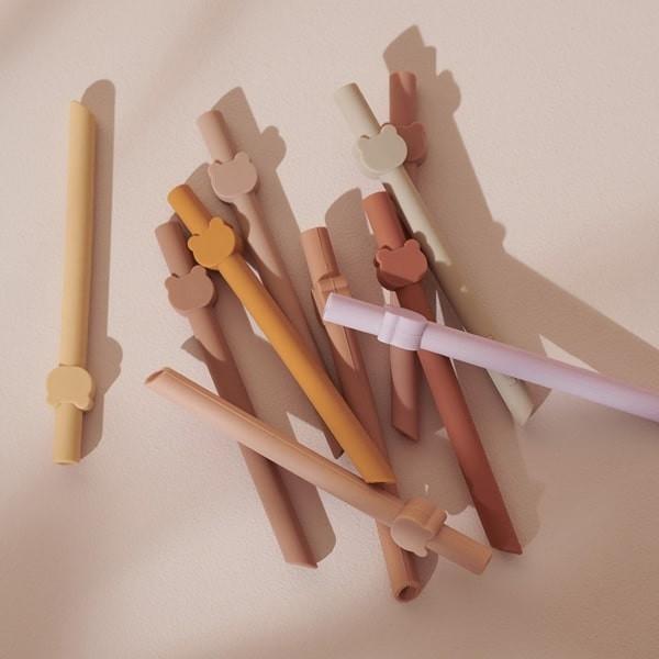 Reusable Straws with animal