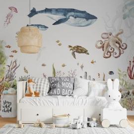 Mural Under The Sea Wallpaper