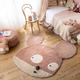 Woolable Miss Mighty Mouse Rug