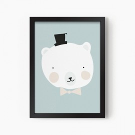 Lámina Mr Polar Bear | A3