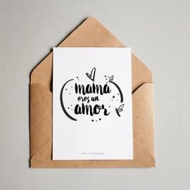 Tarjeta de Felicitación Día de la Madre